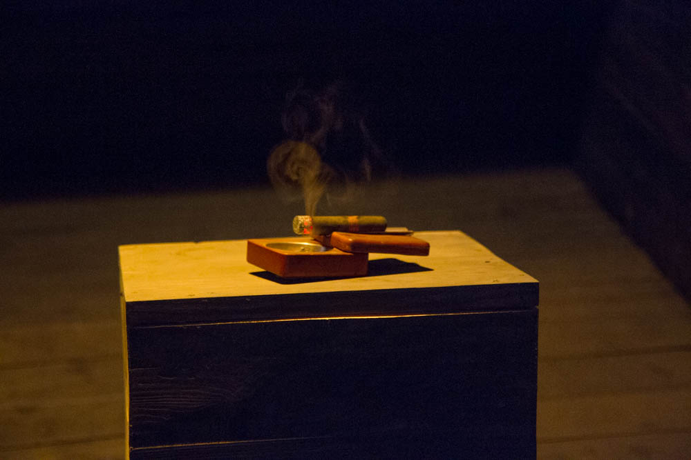 Burning Cigar, Kappiri Installation