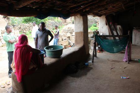 Veranda of a Sidi Home, Gujarat