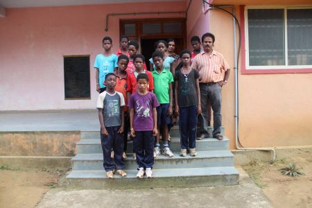 Sidi Athletes in the Karnataka Sports Academy, Karwar