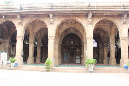 Sidi Sayed Mosque (Front), Ahmedabad