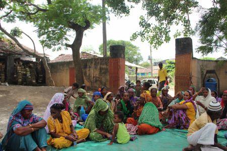 Sidi Community Meeting in Chhachhar