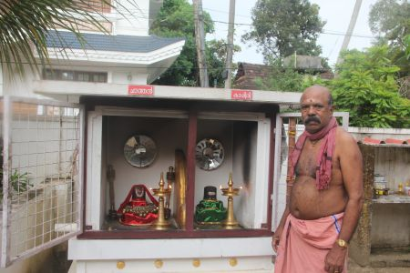 A Newly Erected Kappiri Shrine in Vypin